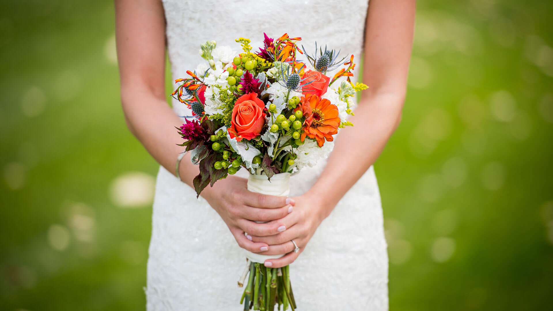 Gorgeous bouquet for the bride